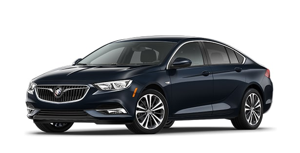 2020 Buick Regal Sportback Sedan in dark blue metallic