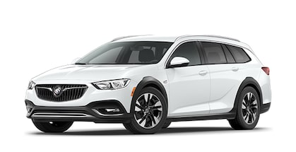 2020 Buick Regal TourX Mid-Size Luxury Wagon in White Frost Tricoat